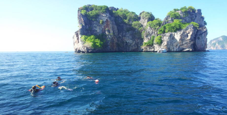 Punti d'immersione Bida Nok - Phi Phi Islands